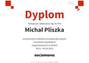 Certyfikat Sociomania
