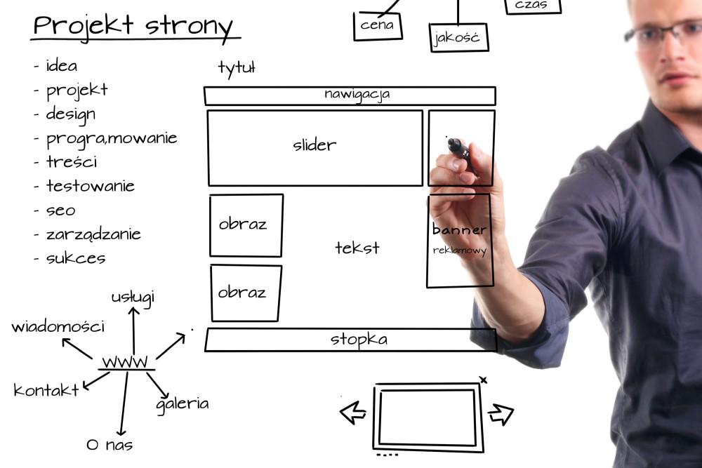 jak się projektuje stronę www